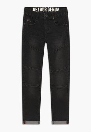 YVES - Jeans slim fit - black denim