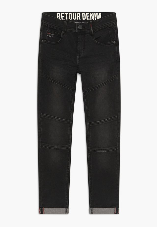 YVES - Slim fit jeans - black denim