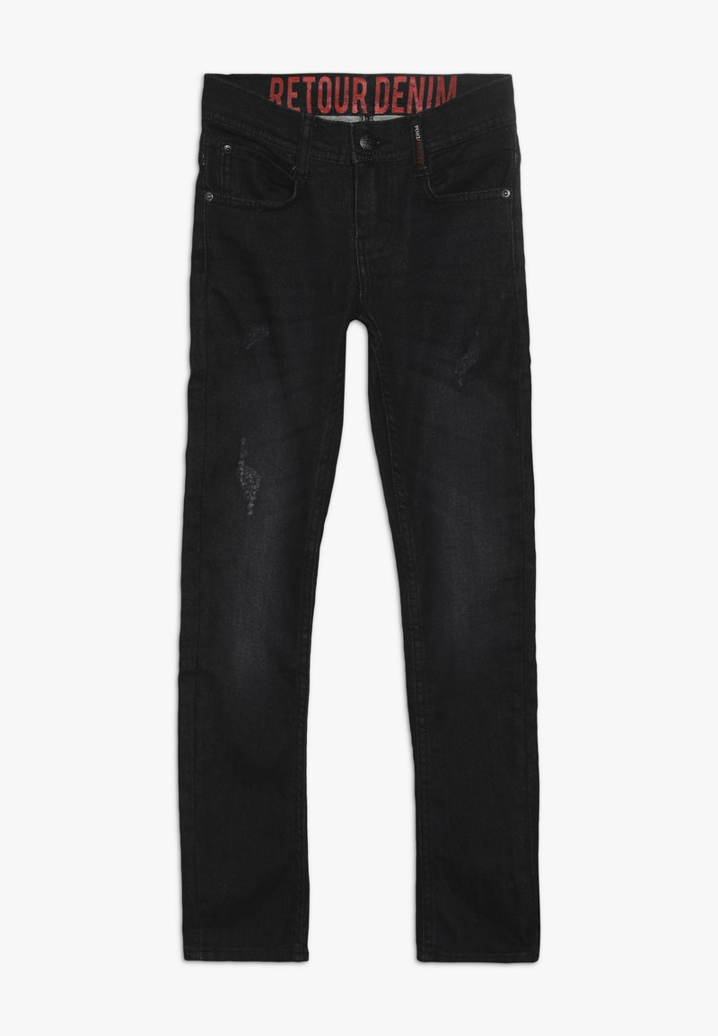 Retour Jeans - LUIGI - Jeans straight leg - black denim