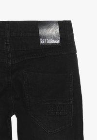 Retour Jeans - LUIGI - Jeans straight leg - black denim - 2