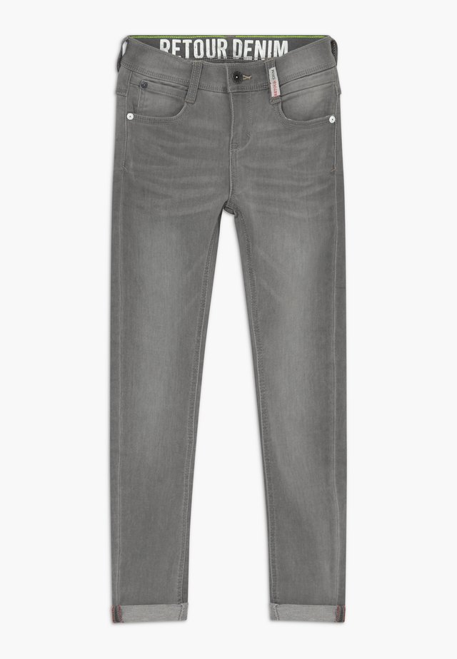 LUIGI - Jeans Skinny Fit - light grey denim
