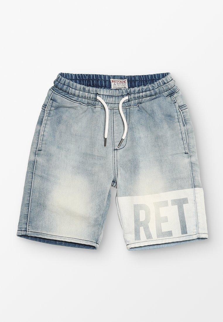Retour Jeans - NEWTON - Jeans Shorts - vintage blue denim