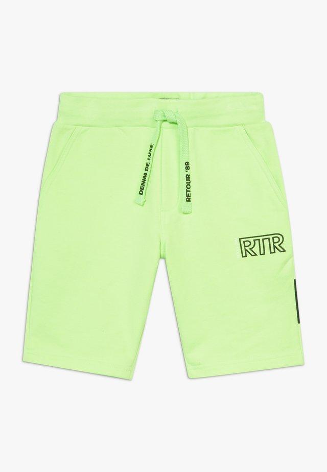 MAXIM - Tracksuit bottoms - neon green