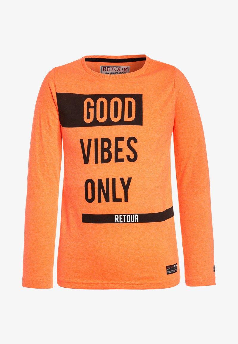 Retour Jeans - Camiseta de manga larga - neon orange