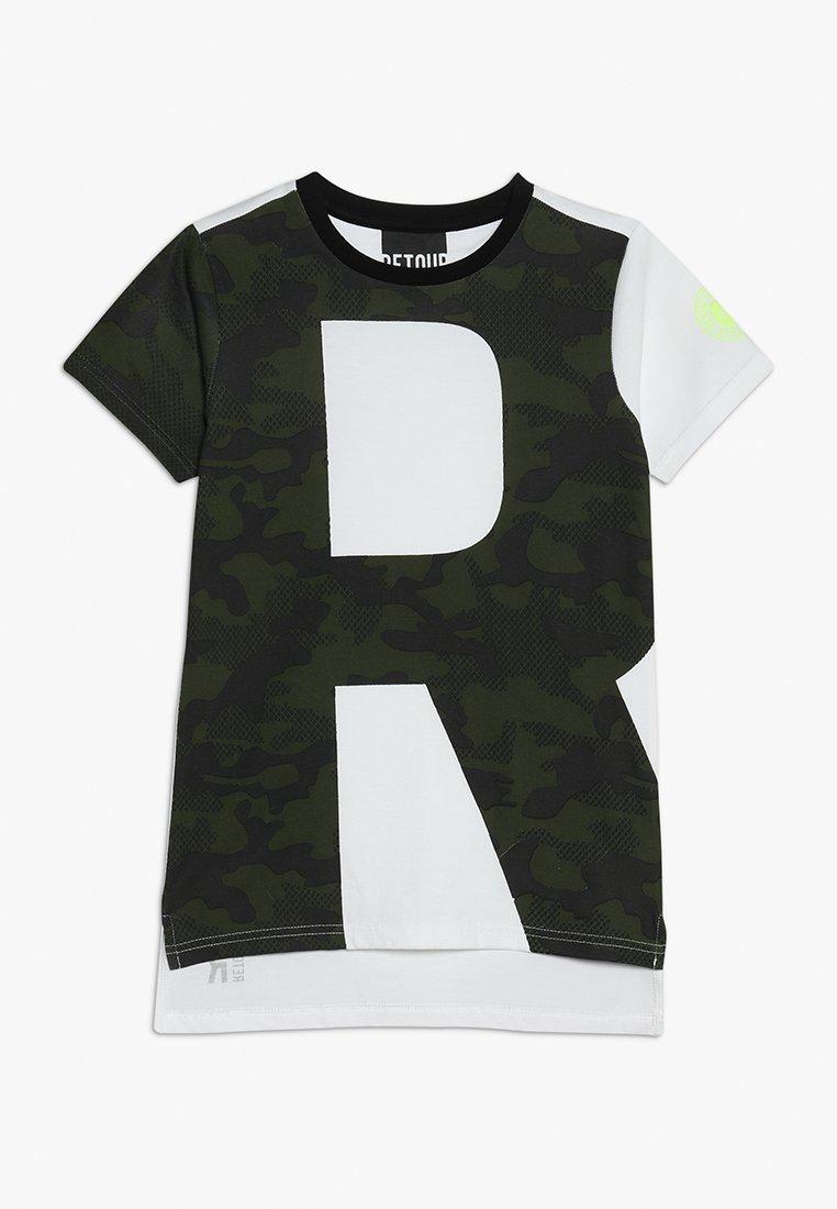 Retour Jeans - JOSH - T-shirt med print - mid army