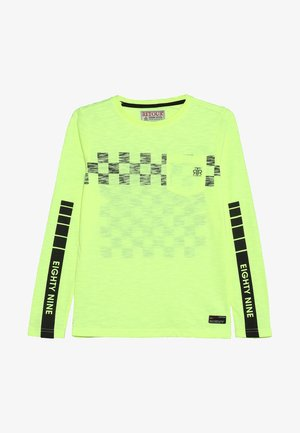 NOUD - Long sleeved top - neon yellow