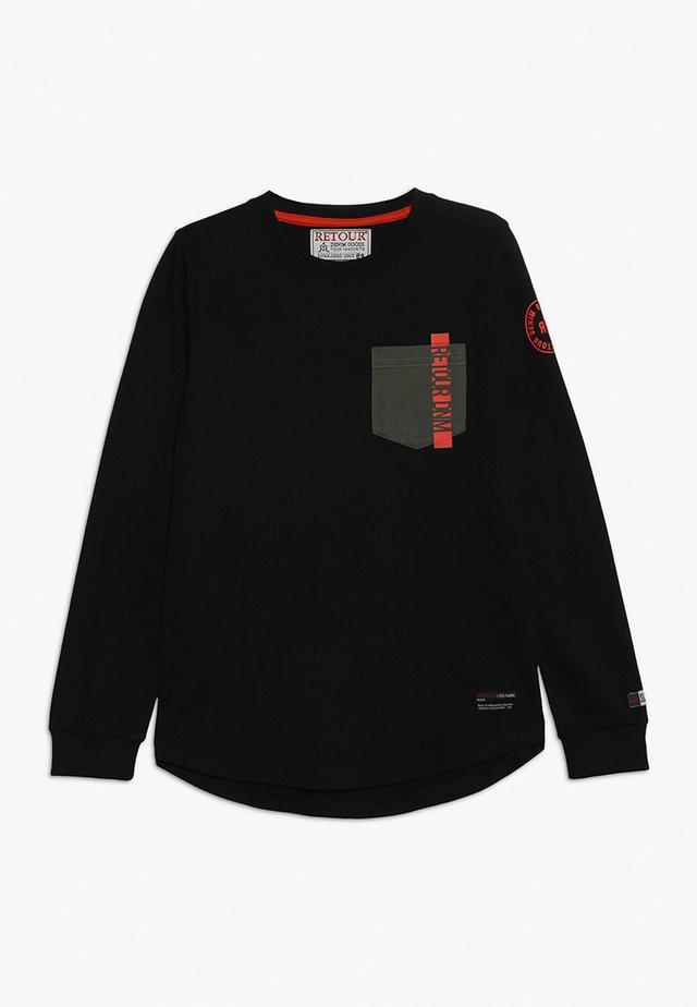 CORNELIO - Langarmshirt - black