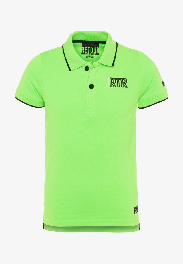 LUCAS - Polo shirt - neon green