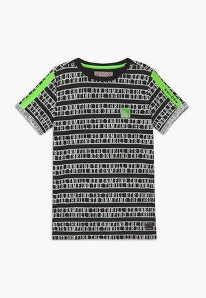 MORIS - T-shirt med print - black