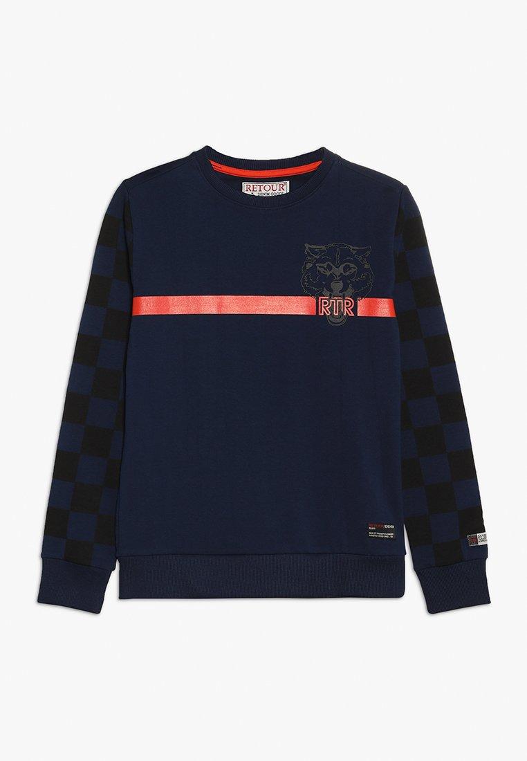 Retour Jeans - MARK - Sweatshirts - dark indigo blue