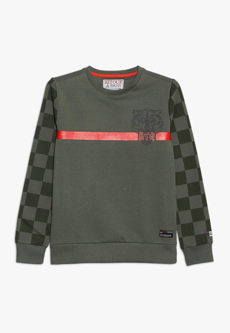 Retour Jeans - MARK - Sweatshirt - dark green