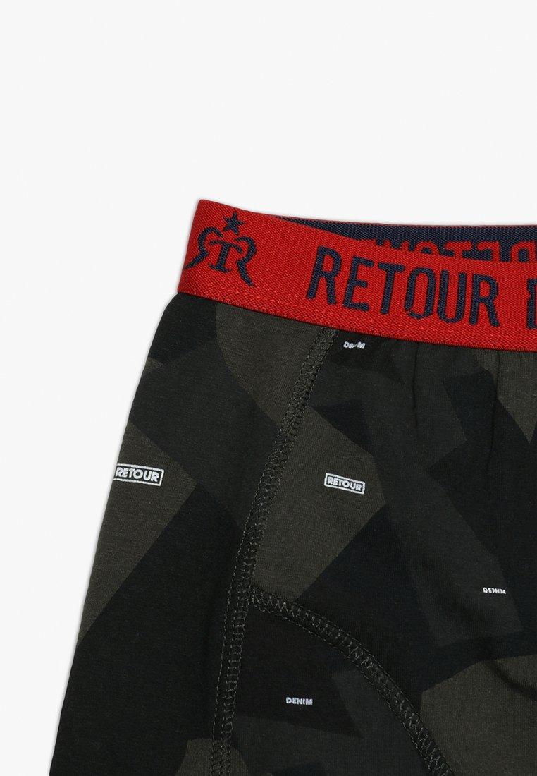 Retour Jeans SETH 2 PACK Shorty bright red ZALANDO.FR