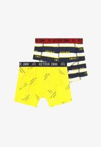 Retour Jeans - RAYMOND 2 PACK - Boxerky - bright yellow - 3