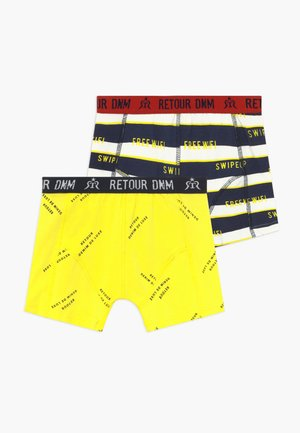 RAYMOND 2 PACK - Boxerky - bright yellow