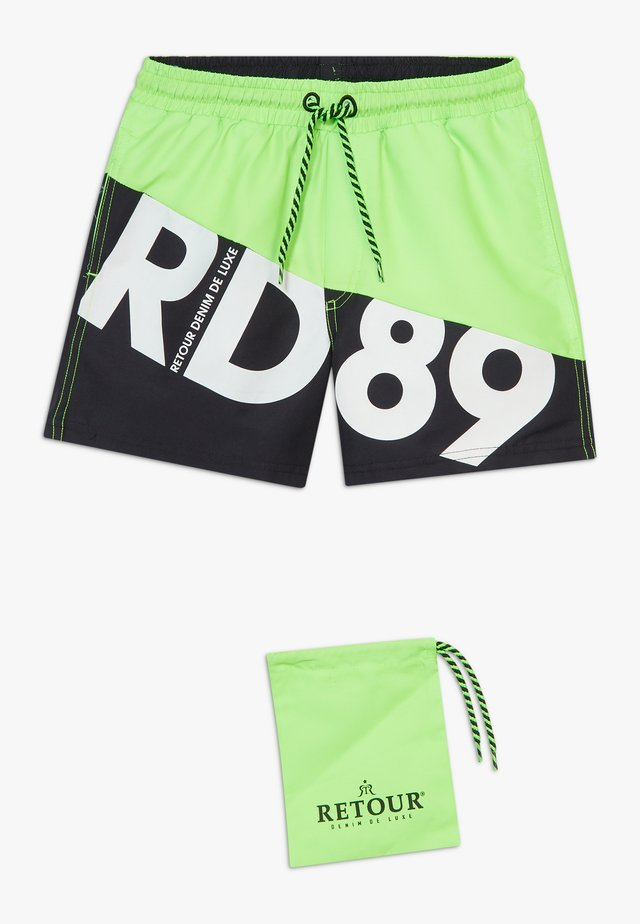 ELMO - Swimming shorts - neon green