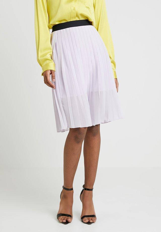 DORETTE SKIRT - A-line skirt - pastel purple