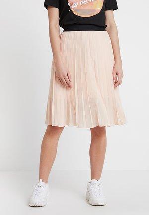 DORETTE SKIRT - A-line skirt - pale blush