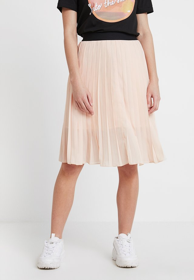 DORETTE SKIRT - A-lijn rok - pale blush
