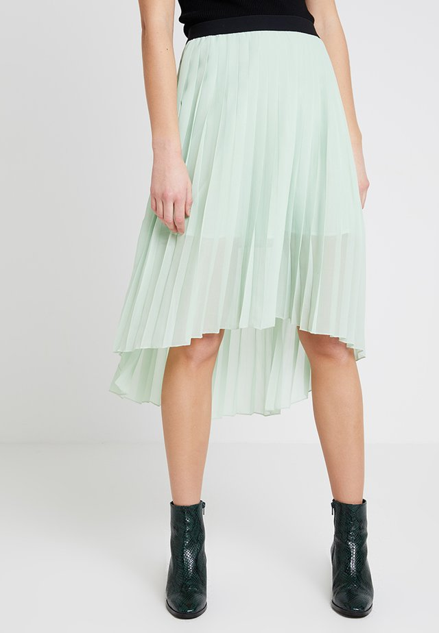 DORETTE HIGH LOW SKIRT - A-lijn rok - green water