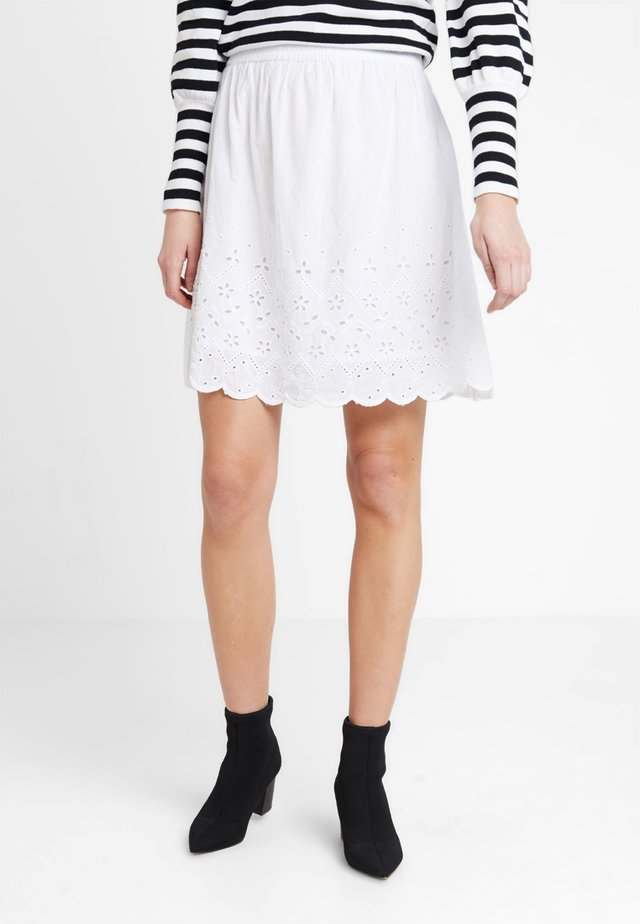 TOLA SKIRT - A-line skirt - white