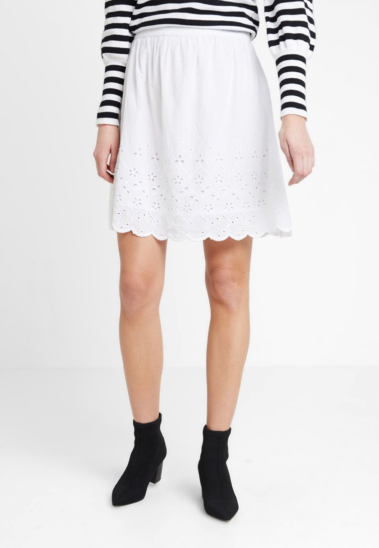 Sparkz - TOLA SKIRT - A-line skirt - white