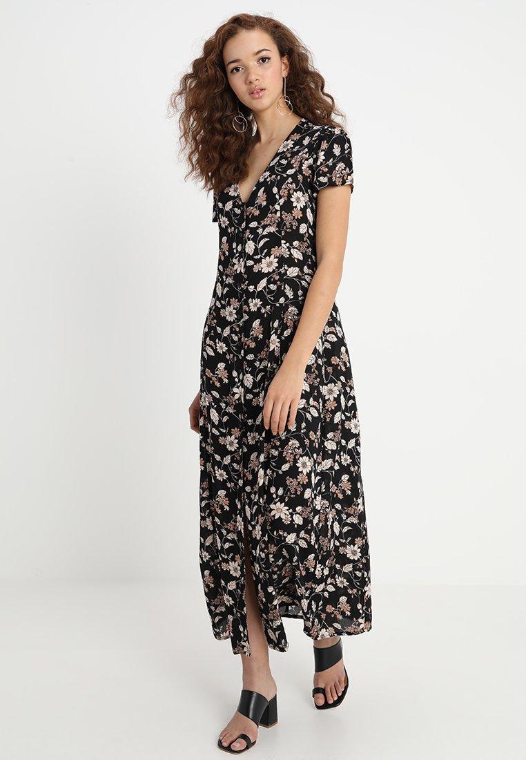 Sparkz - PEARL FLOWER DRESS - Maxikleid - black
