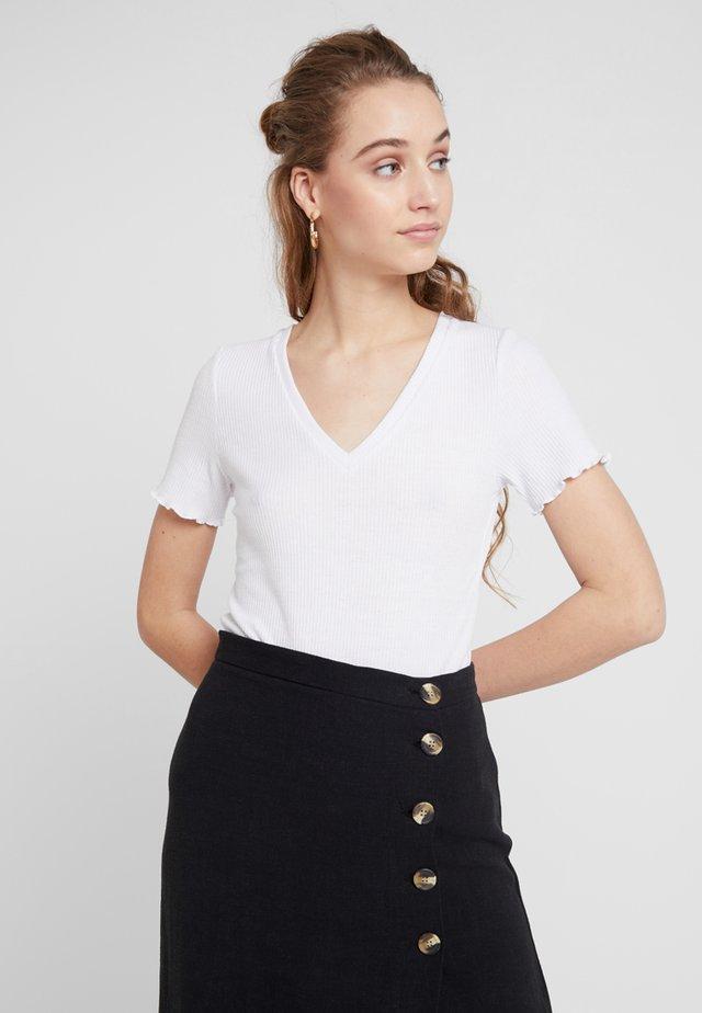 TONJE TEE - Print T-shirt - white