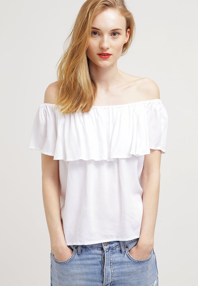 FILUCA - Blus - offwhite
