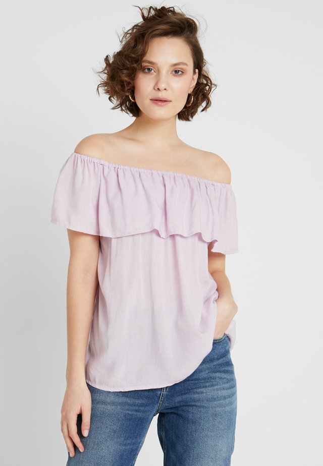 FILUCA - Blouse - pastel purple