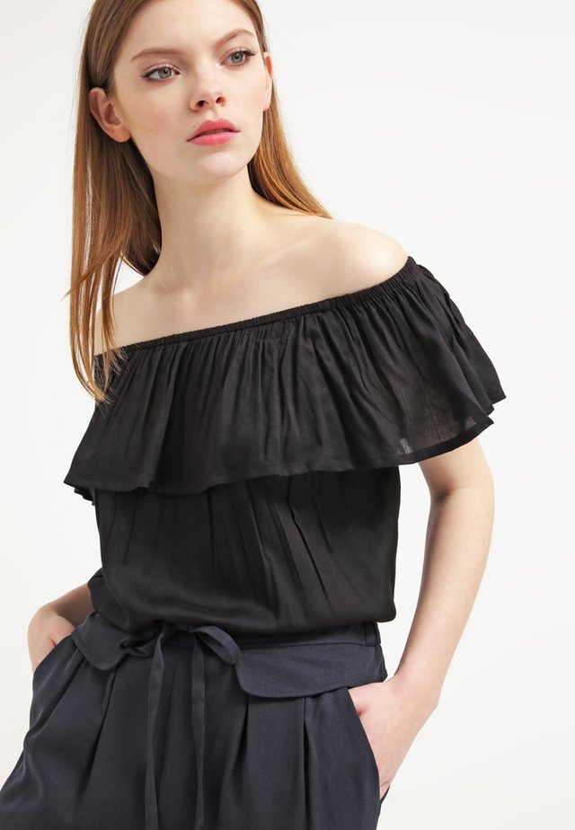 FILUCA - Blouse - black