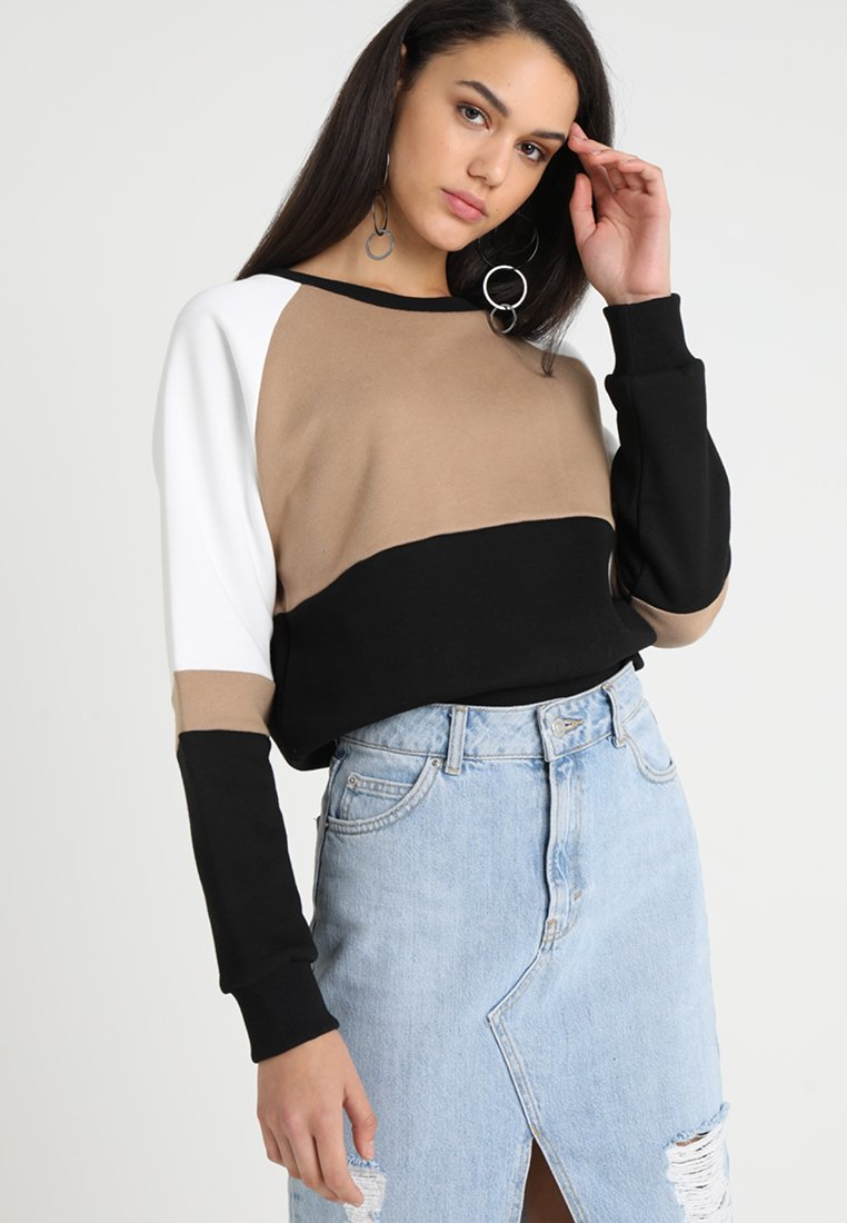 Sparkz - SANE BLOCK - Sweatshirt - light camel