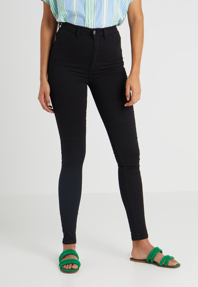 Sparkz - KELLY HIGH RISE PANT - Jeans Skinny Fit - black