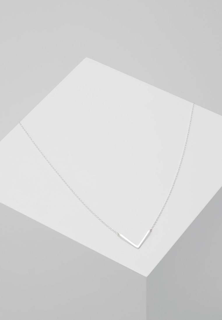 Orelia - CLEAN V NECKLACE - Collier - silver-coloured