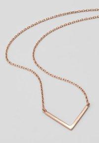 Orelia - CLEAN V NECKLACE - Halskæder - rose gold-coloured - 4