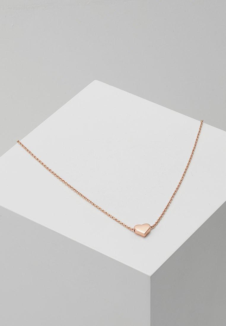 Orelia - THRU HEART - Collana - rose gold-coloured
