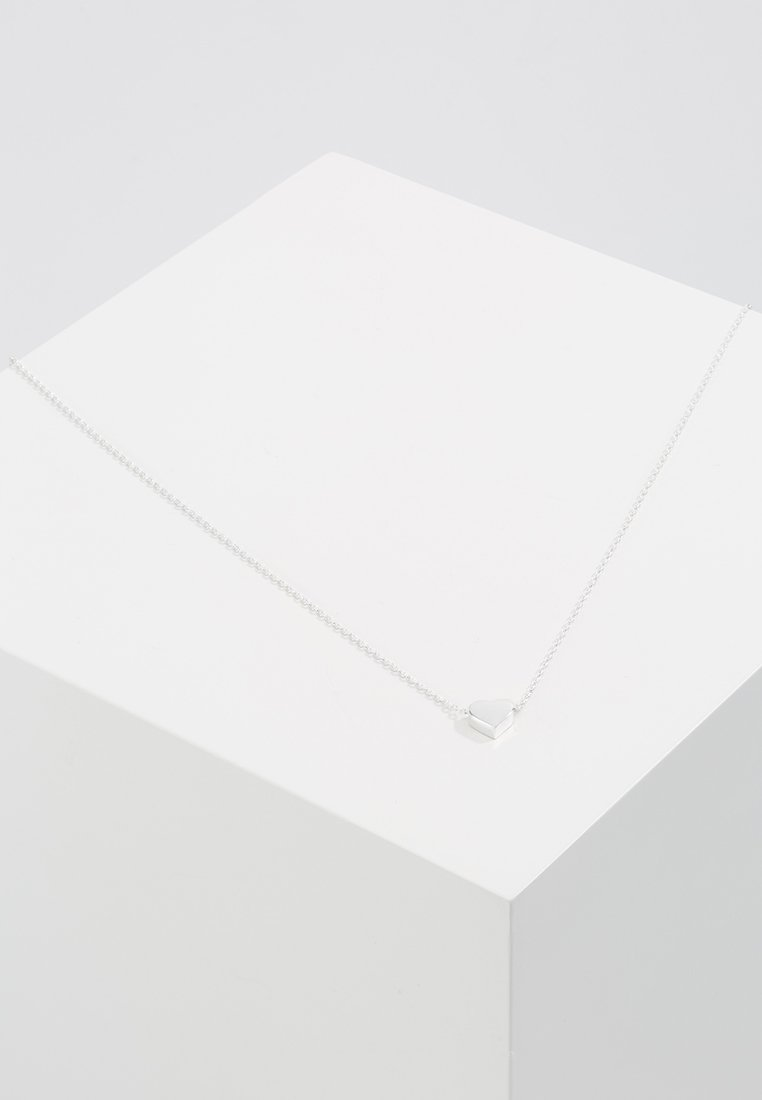 Orelia - THRU HEART - Náhrdelník - silver-coloured