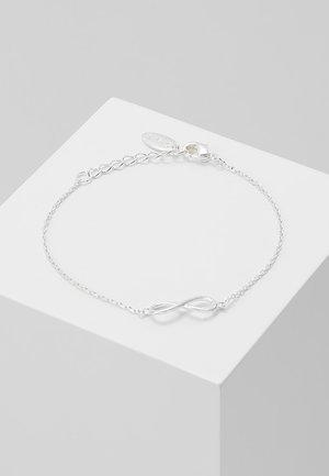 INFINITY BRACELET - Náramek - silver-coloured