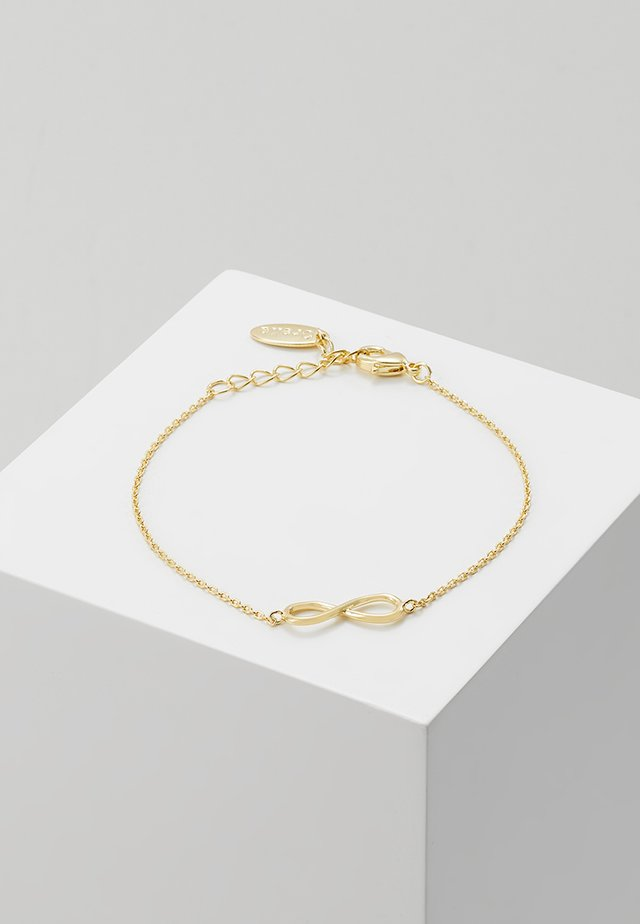 INFINITY BRACELET - Armband - pale gold-coloured