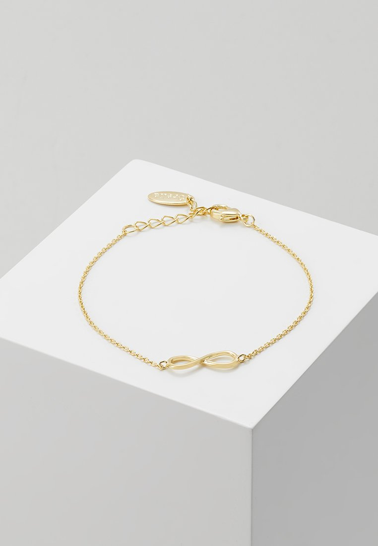 Orelia - INFINITY BRACELET - Armbånd - pale gold-coloured