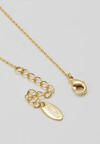 Orelia - THREAD THRU HEART NECKLACE - Náhrdelník - pale gold-coloured - 2