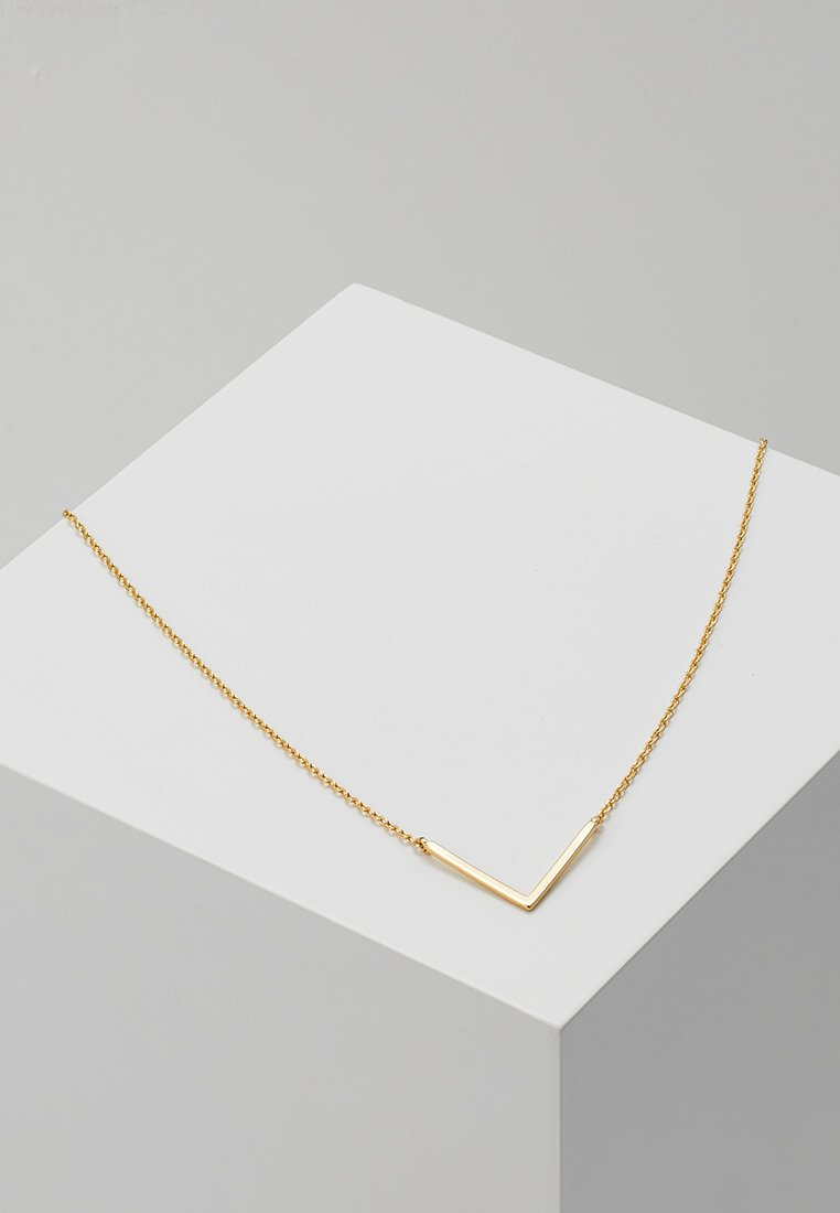 Orelia - CLEAN V CHOKER - Ketting - pale gold-coloured