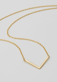 Orelia - CLEAN V CHOKER - Ketting - pale gold-coloured - 4