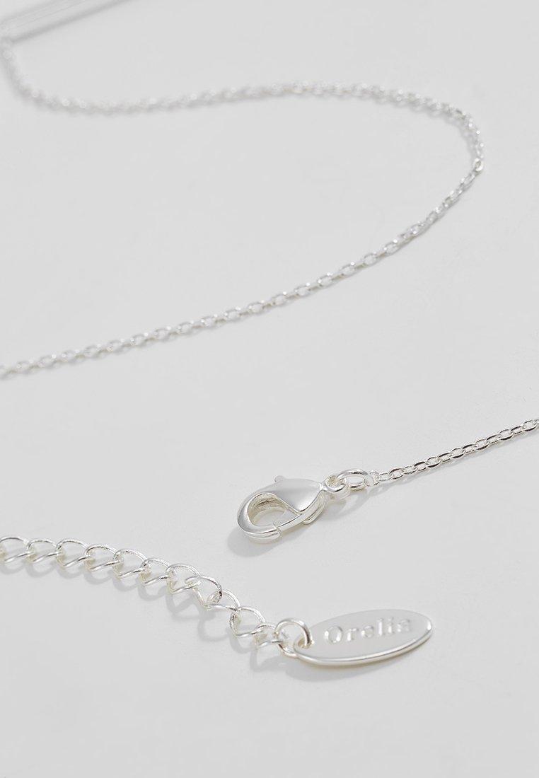 Orelia Horizontal Bar Short - Halskæder Silver-coloured