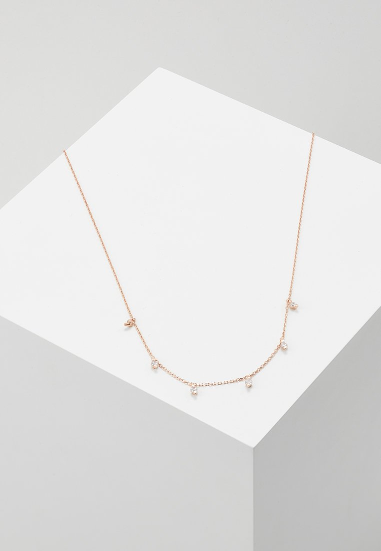Orelia - MULTI DROP NECKLACE - Halskette - rose gold-coloured