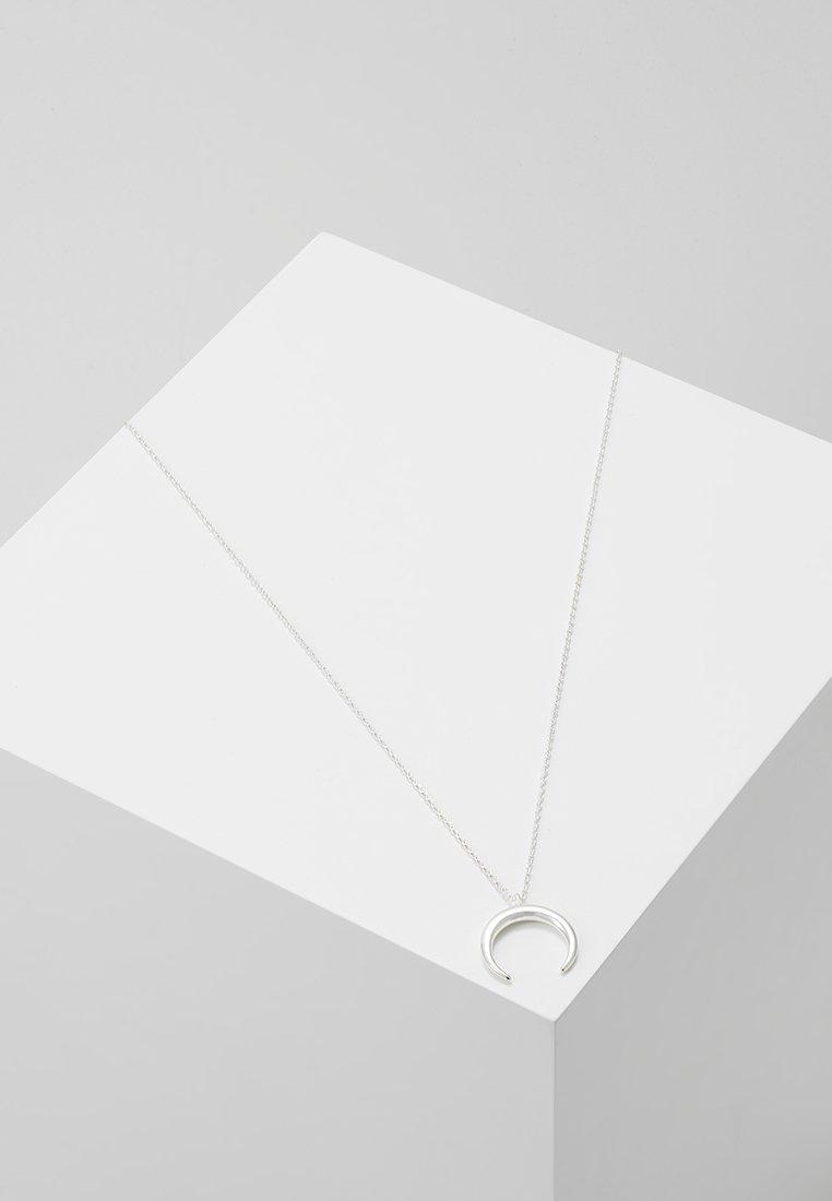 Orelia - CRESCENT DITSY NECKLACE - Ketting - silver-coloured