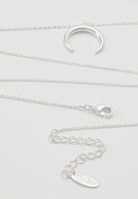 Orelia - CRESCENT DITSY NECKLACE - Ketting - silver-coloured - 2