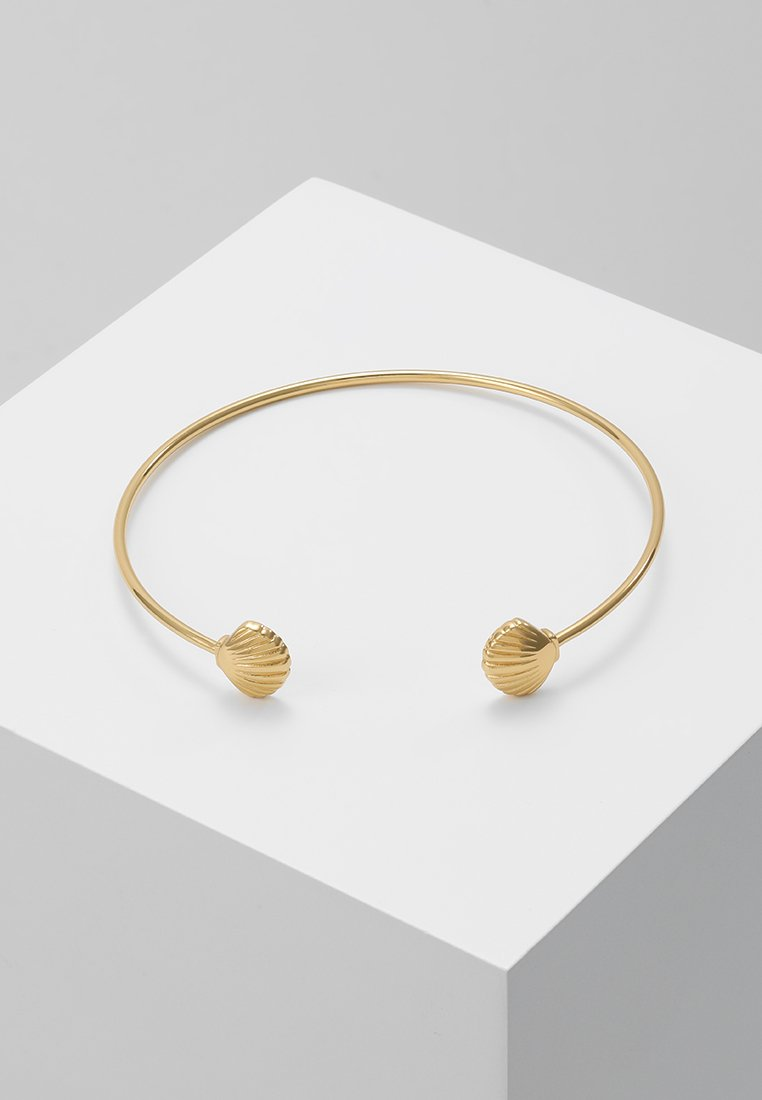 Orelia - OPEN BANGLE - Pulsera - pale gold-coloured