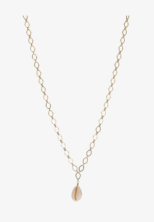 CHAIN NECKLACE - Halskette - pale gold-coloured