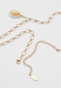 Orelia - CHAIN NECKLACE - Halskette - pale gold-coloured - 2