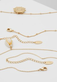 Orelia - SHELL & PALM TAG 2 ROW - Collier - pale gold-coloured - 2